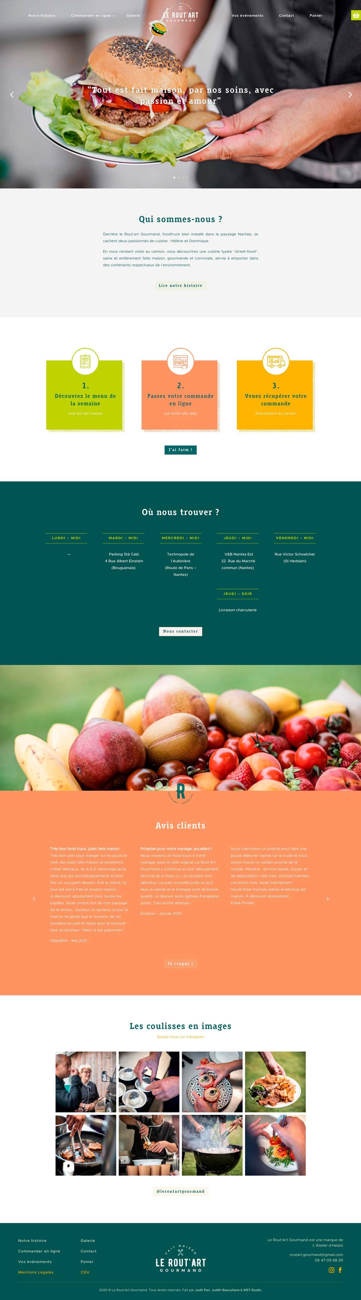 página inicio de la web Vincenzo