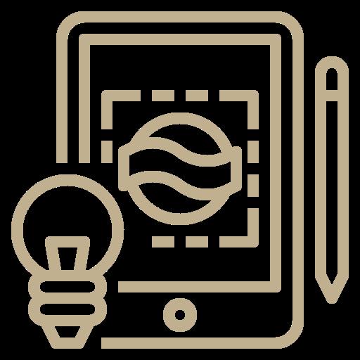 tablet con branding